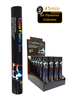 Color Flame Stick